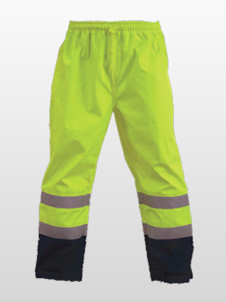 HI-VIS RAIN PROOF TROUSERS-0