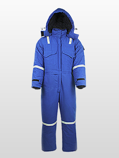 FIRE RESISTANT / ANTI-STATIC / ARC RATED EXTREME COLD COVERALLS-0