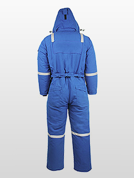 FIRE RESISTANT / ANTI-STATIC / ARC RATED EXTREME COLD COVERALLS-1242