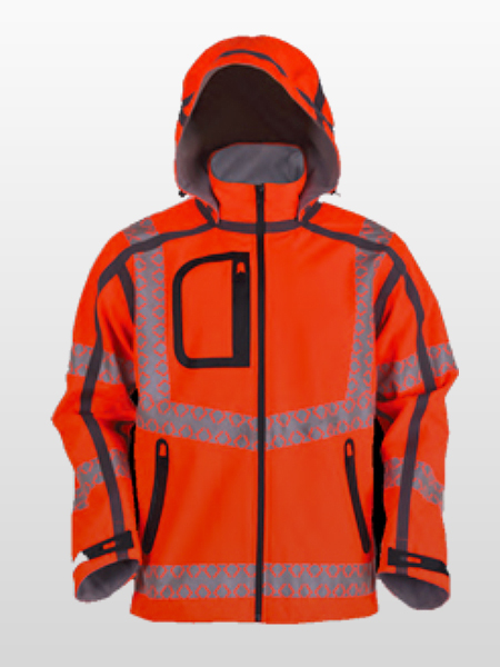 WATERPROOF HI-VIS SOFTSHELL JACKET-0