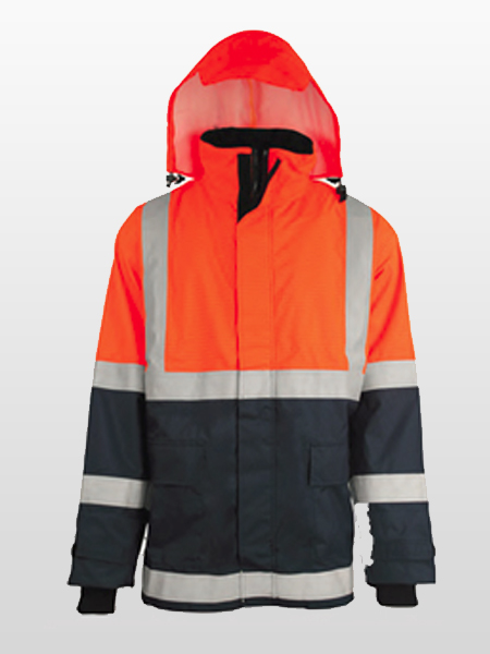 FIRE RESISTANT / ANTI STATIC INSULTED 6 IN 1 RAIN COAT-0