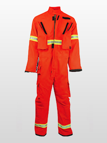 FOREST / WILD LAND FIRE FIGHTING COVERALLS-0