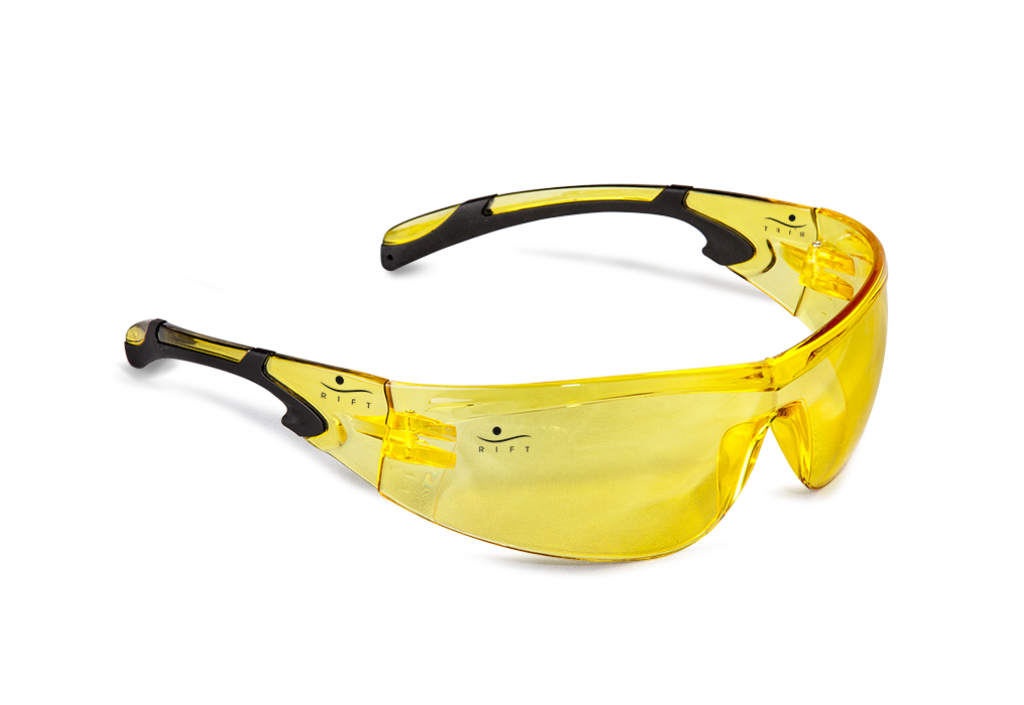 RIFT YELLOW ECHO SAFETY GLASSES-0