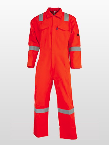 FIRE RESISTANT / ANTI-STATIC / ARC FLASH PROTECTIVE COVERALLS-0