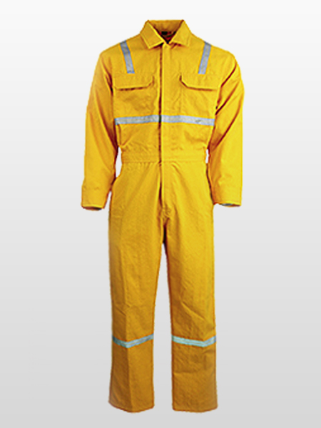 FIRE RESISTANT / ANTI-STATIC / ARC FLASH PROTECTIVE COVERALLS -0